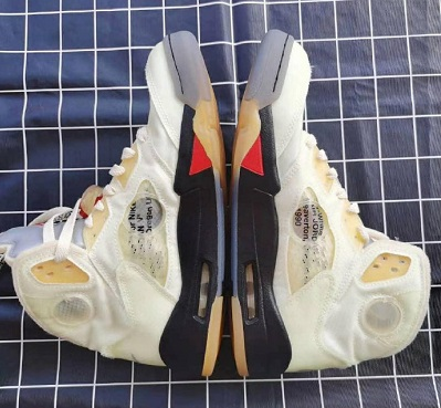 Off-White x Air Jordan V 新配色预览